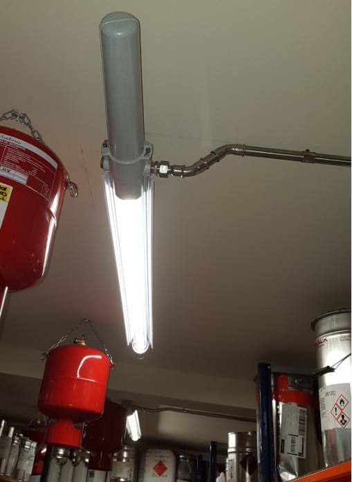 Proyecto contra incendios extintor automático