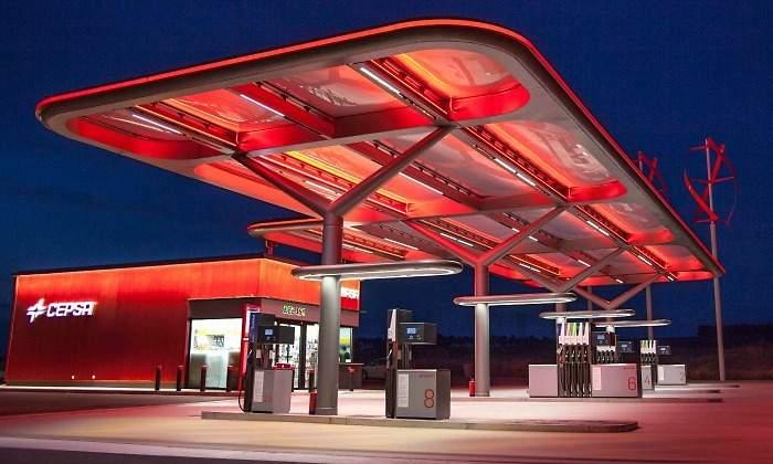 Proyecto electrico gasolinera