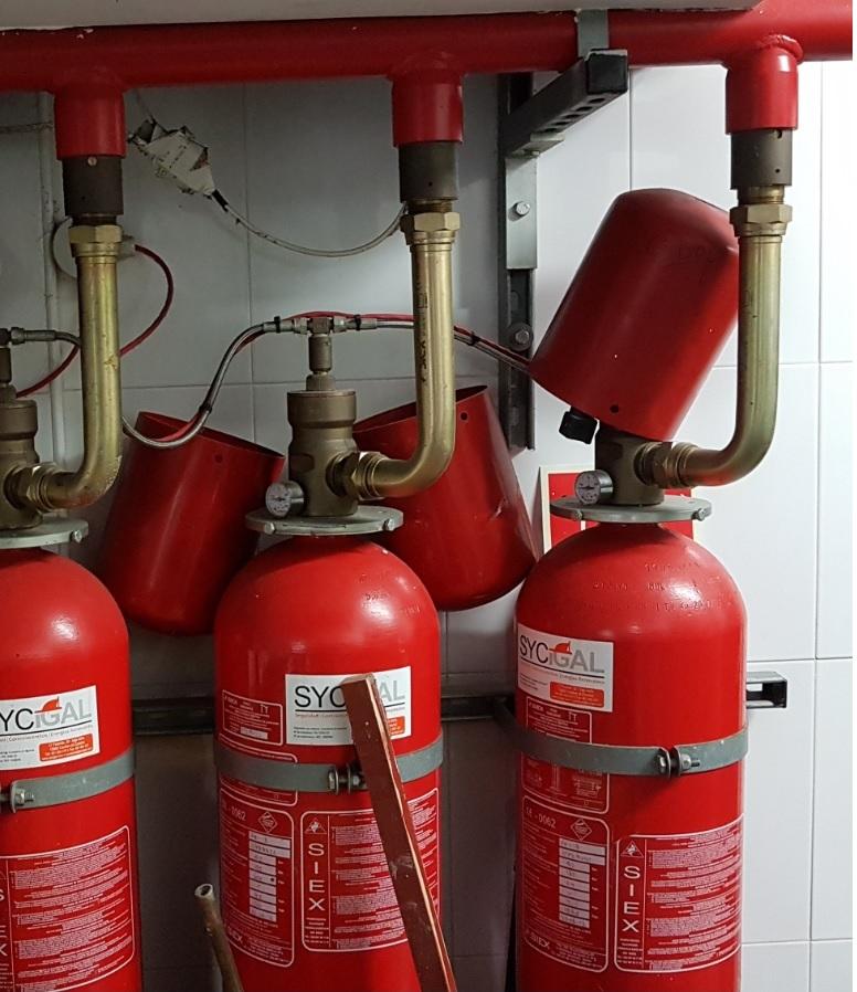 Proyecto contra incendios extinción espuma